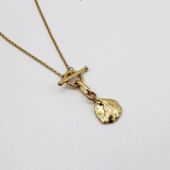 Irregular Moment 925 Sterling Silver Necklace