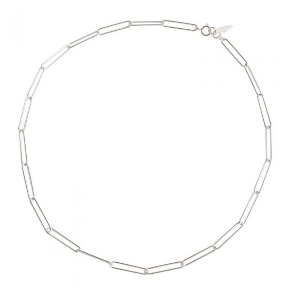 New Hollow Chain 925 Sterling Silver Necklace