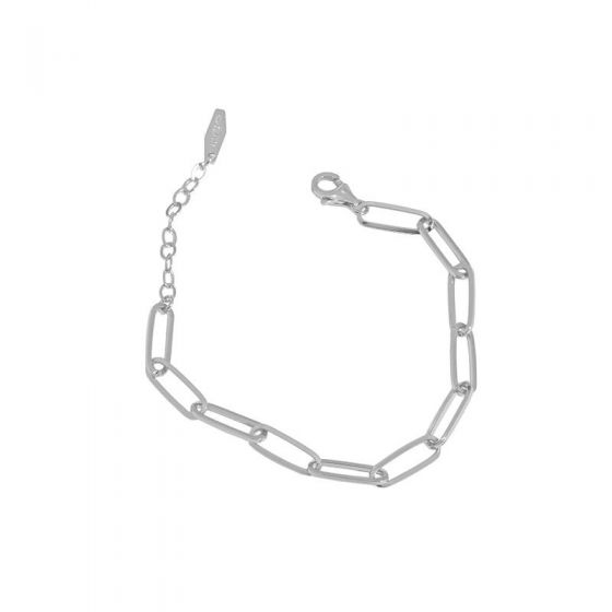 Holiday Hollow Chain 925 Sterling Silver Bracelet