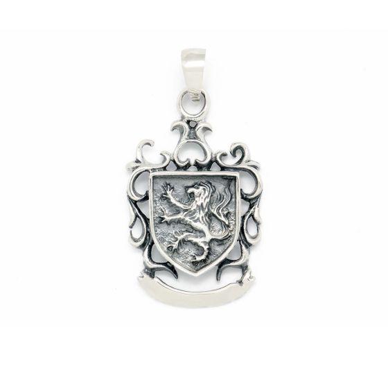 Vintage Men Dragon Wing  925 Sterling Silver Pendant