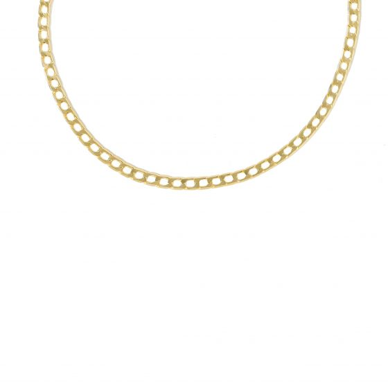 Classic Hollow Chain 925 Sterling Silver Necklace