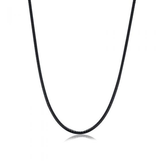 "Handmade Cotton 925 Sterling Silver Necklace Men 18"" 20"" 22"" 24"""