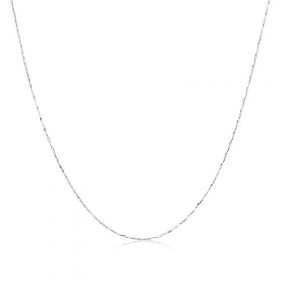 """Fish Tail Bud Seed 925 Sterling Silver 16""""/18"""" Chain"""