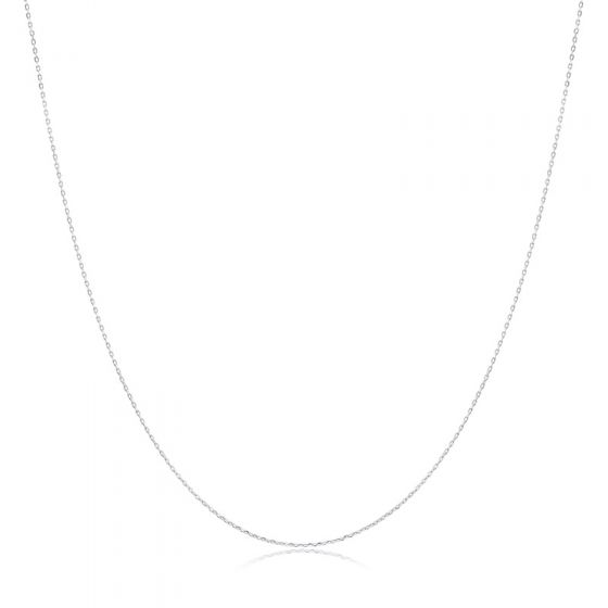 """Anchor Chain Collar Necklace 925 Sterling Silver 16"""" 18"""""""