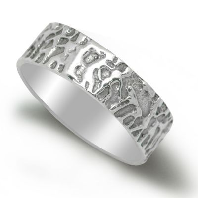NEW Fashion Tree Solid 925 Sterling Silver Promise Ring/Men Couples
