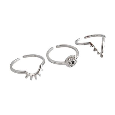 Fashion 925 Sterling Silver Adjustable Ring Site