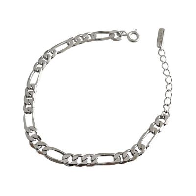 Classic Hollow Chain 925 Sterling Silver Bracelet