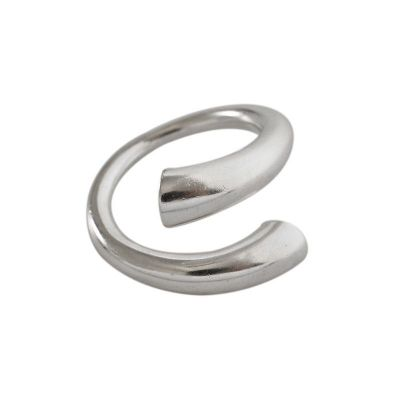 Minimalism Matte 925 Sterling Silver Adjustable Ring