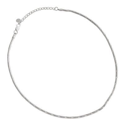 Simple Snake Chain 925 Sterling Silver Necklace