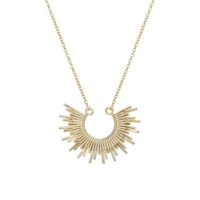 Party Sun Fashion 925 Sterling Silver Necklace