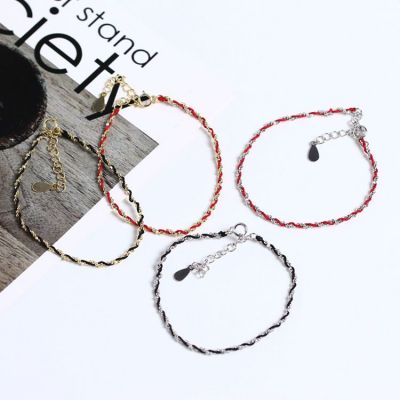 Handmade Twisted 925 Sterling Silver Bracelet