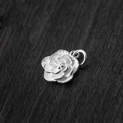 Trendy Lotus Flower 925 Sterling Silver DIY Charm