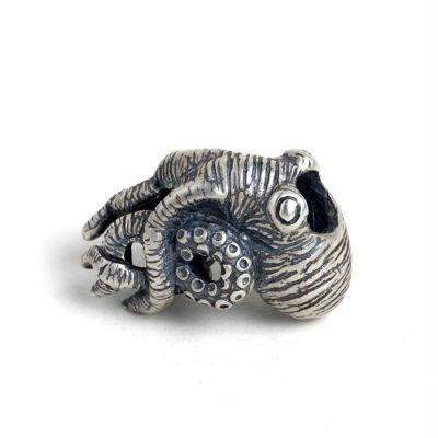 Cute Animal Octopus 925 Sterling Silver Pendant
