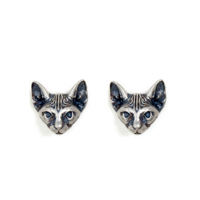 Vintage Cate Cute 925 Sterling Silver Stud Earring(Single)