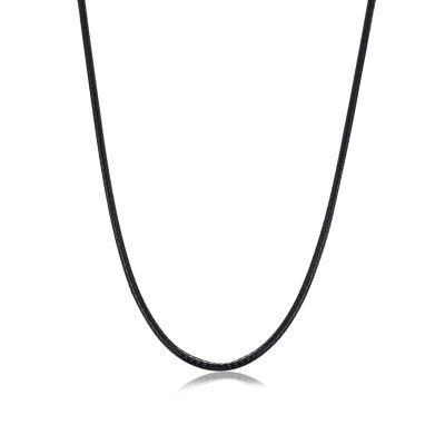 Handmade Cotton 925 Sterling Silver Necklace Men 18