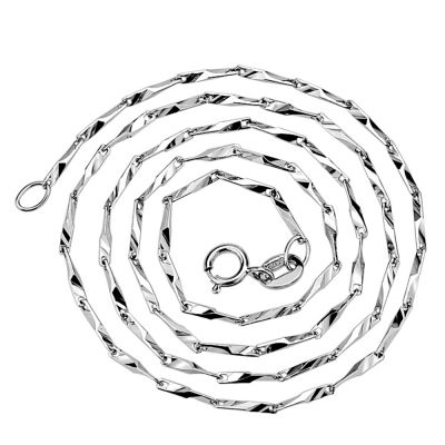 Barleycorn Chain Bud Seed Sterling Silver Chain 925 Sterling Silver 16