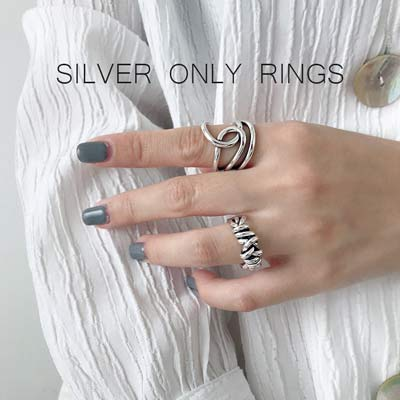 Silver Only Rings
